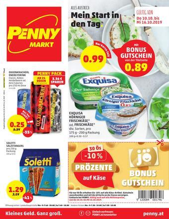 PENNY Werbeflugblatt (bis einschl. 16-10)
