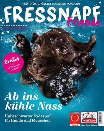 Fressnapf Werbeflugblatt (bis einschl. 31-08)
