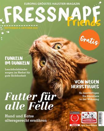 Fressnapf Werbeflugblatt (bis einschl. 31-10)