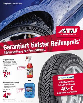 A.T.U. Werbeflugblatt (bis einschl. 31-10)