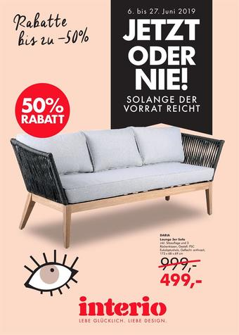 Interio Werbeflugblatt (bis einschl. 27-07)