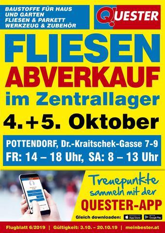 Quester Werbeflugblatt (bis einschl. 19-10)