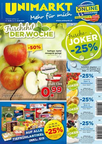 Unimarkt Werbeflugblatt (bis einschl. 21-05)
