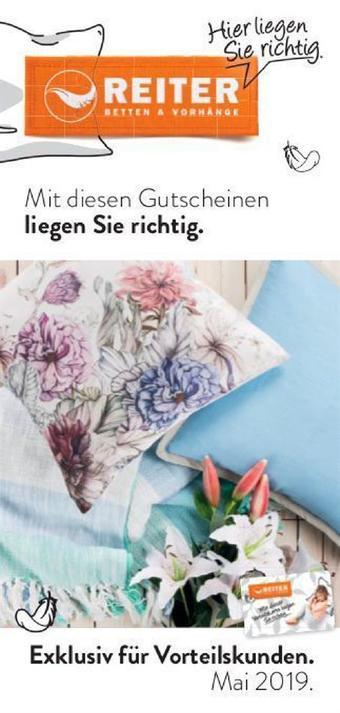 Reiter Werbeflugblatt (bis einschl. 31-05)