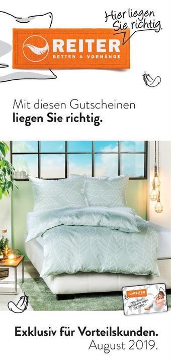Reiter Werbeflugblatt (bis einschl. 31-08)