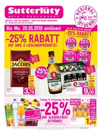 Sutterlüty Werbeflugblatt (bis einschl. 22-05)