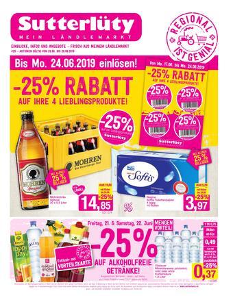 Sutterlüty Werbeflugblatt (bis einschl. 26-06)