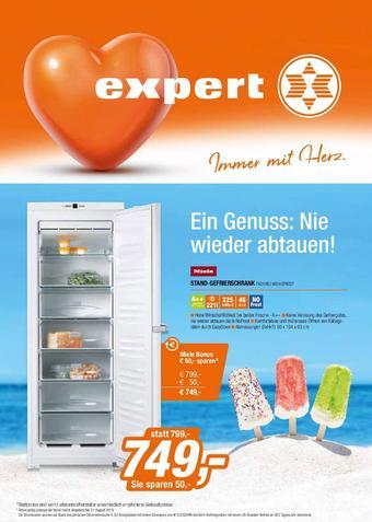 Expert Werbeflugblatt (bis einschl. 31-08)
