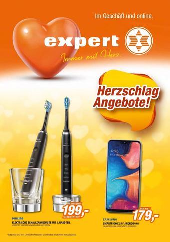 Expert Werbeflugblatt (bis einschl. 25-08)