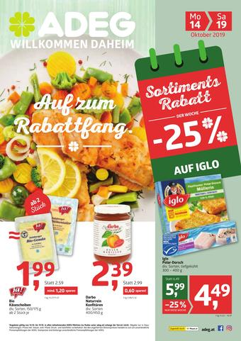 ADEG Werbeflugblatt (bis einschl. 19-10)