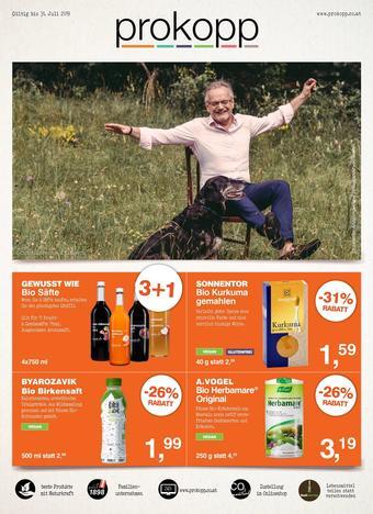 Prokopp Werbeflugblatt (bis einschl. 30-07)
