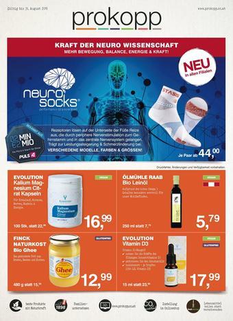 Prokopp Werbeflugblatt (bis einschl. 31-08)