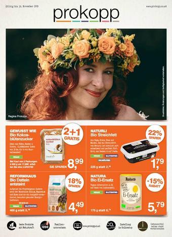 Prokopp Werbeflugblatt (bis einschl. 30-11)