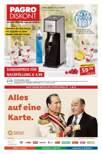 Pagro-Diskont Werbeflugblatt (bis einschl. 22-05)