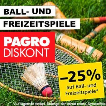 Pagro-Diskont Werbeflugblatt (bis einschl. 31-07)