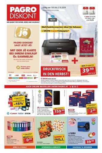 Pagro-Diskont Werbeflugblatt (bis einschl. 02-10)