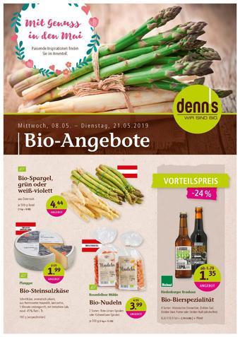 Denn's Biomarkt Werbeflugblatt (bis einschl. 21-05)
