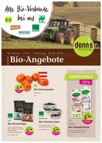 Denn's Biomarkt Werbeflugblatt (bis einschl. 30-07)