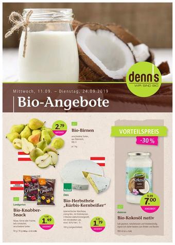 Denn's Biomarkt Werbeflugblatt (bis einschl. 24-09)