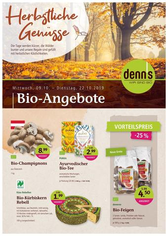 Denn's Biomarkt Werbeflugblatt (bis einschl. 22-10)