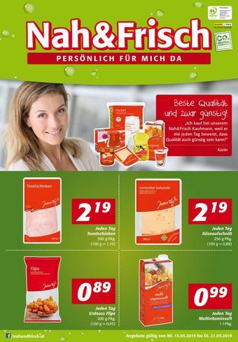 Nah & Frisch Werbeflugblatt (bis einschl. 21-05)