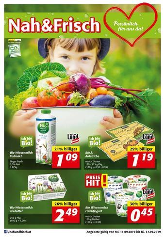 Nah & Frisch Werbeflugblatt (bis einschl. 17-09)