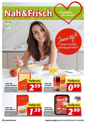 Nah & Frisch Werbeflugblatt (bis einschl. 22-10)