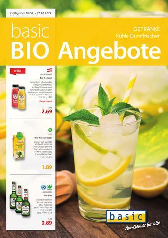 Basic Biomarkt Werbeflugblatt (bis einschl. 28-08)