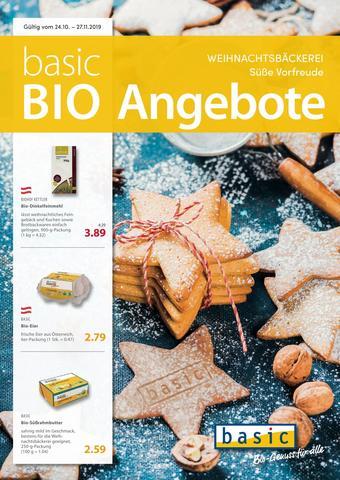 Basic Biomarkt Werbeflugblatt (bis einschl. 27-11)