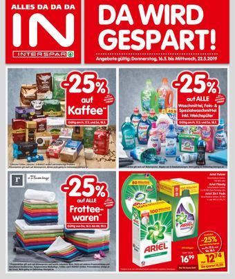 Interspar Werbeflugblatt (bis einschl. 22-05)