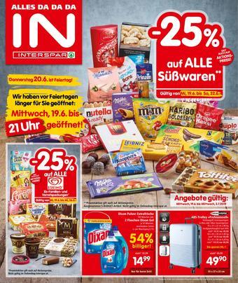 Interspar Werbeflugblatt (bis einschl. 03-07)