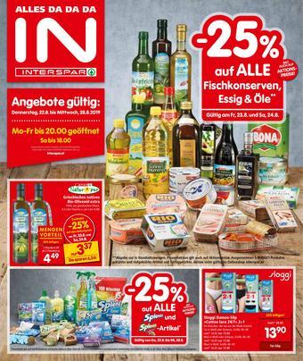 Interspar Werbeflugblatt (bis einschl. 28-08)