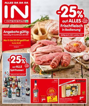 Interspar Werbeflugblatt (bis einschl. 25-09)