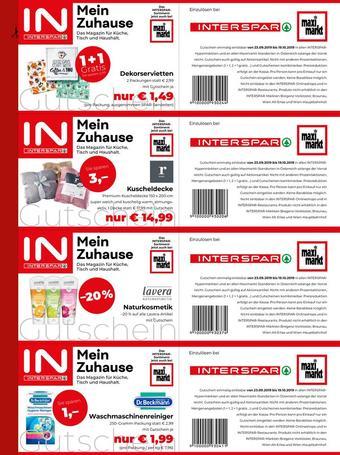 Interspar Werbeflugblatt (bis einschl. 19-10)