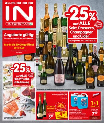Interspar Werbeflugblatt (bis einschl. 23-10)