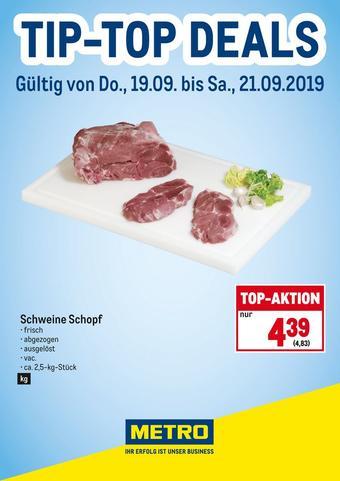 Metro Werbeflugblatt (bis einschl. 21-09)