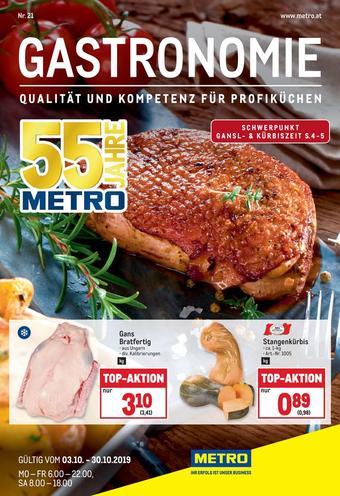 Metro Werbeflugblatt (bis einschl. 30-10)