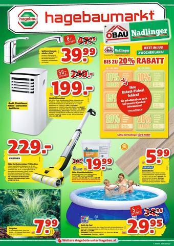 Hagebau Werbeflugblatt (bis einschl. 23-07)