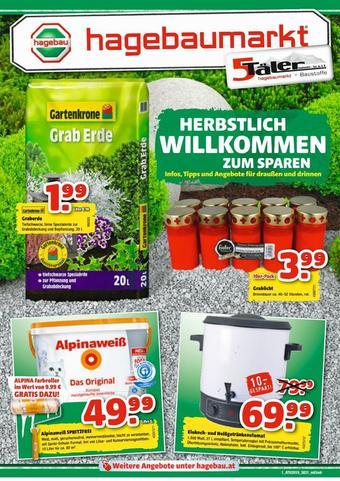 Hagebau Werbeflugblatt (bis einschl. 31-10)