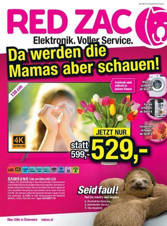 Red Zac Werbeflugblatt (bis einschl. 31-05)