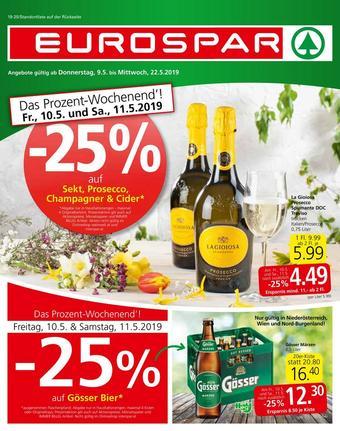 Eurospar Werbeflugblatt (bis einschl. 22-05)