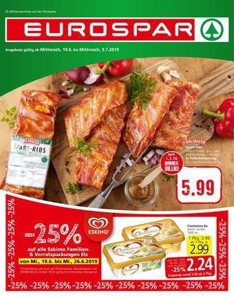Eurospar Werbeflugblatt (bis einschl. 03-07)