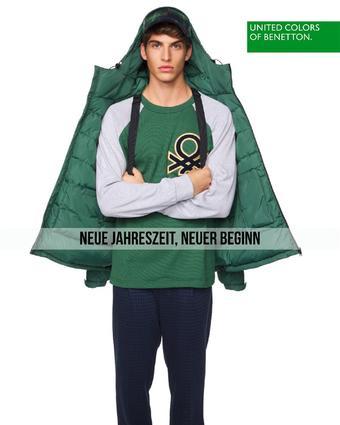 United Colors Of Benetton Werbeflugblatt (bis einschl. 23-10)