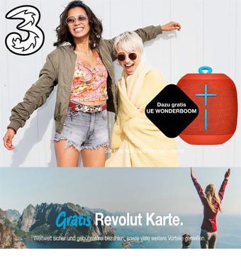 Drei Werbeflugblatt (bis einschl. 31-07)