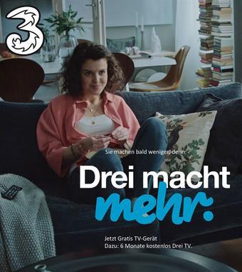 Drei Werbeflugblatt (bis einschl. 31-08)