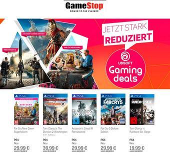 GameStop Werbeflugblatt (bis einschl. 17-07)