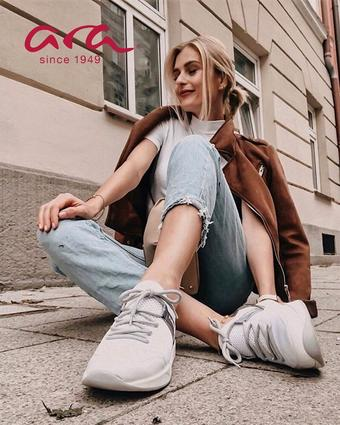 ara Schuhe Werbeflugblatt (bis einschl. 21-10)