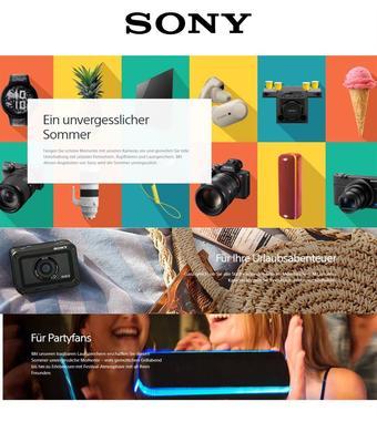 Sony Werbeflugblatt (bis einschl. 31-08)