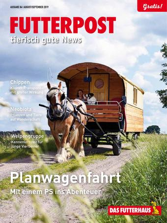 Das Futterhaus Werbeflugblatt (bis einschl. 30-09)