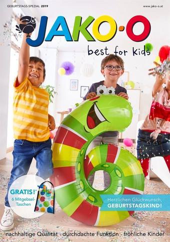 JAKO O Werbeflugblatt (bis einschl. 31-07)